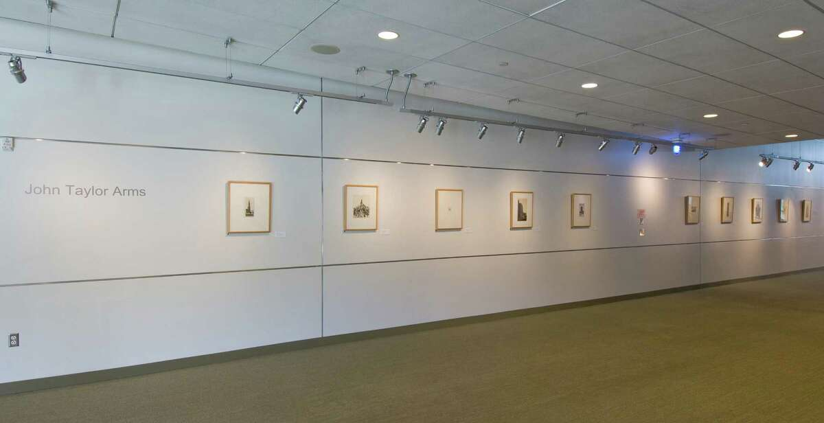 Housatonic Museum's Community Gallery is featuring a 10-work exhibit by master etcher John Taylor Arms (1887-1953).