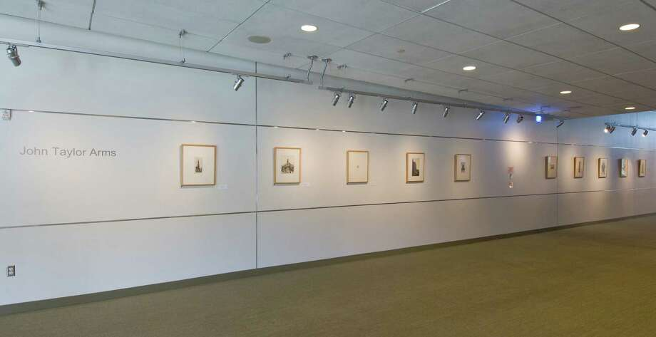 Housatonic Museum's Community Gallery is featuring a 10-work exhibit by master etcher John Taylor Arms (1887-1953). Photo: Contributed Photo