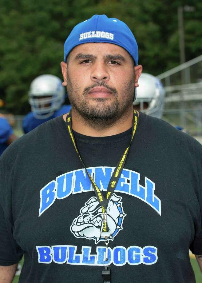 Doug Cotto head coach Bunnell high school football team Saturday August 31st, 2013. Photo: Mark Conrad / Connecticut Post Freelance