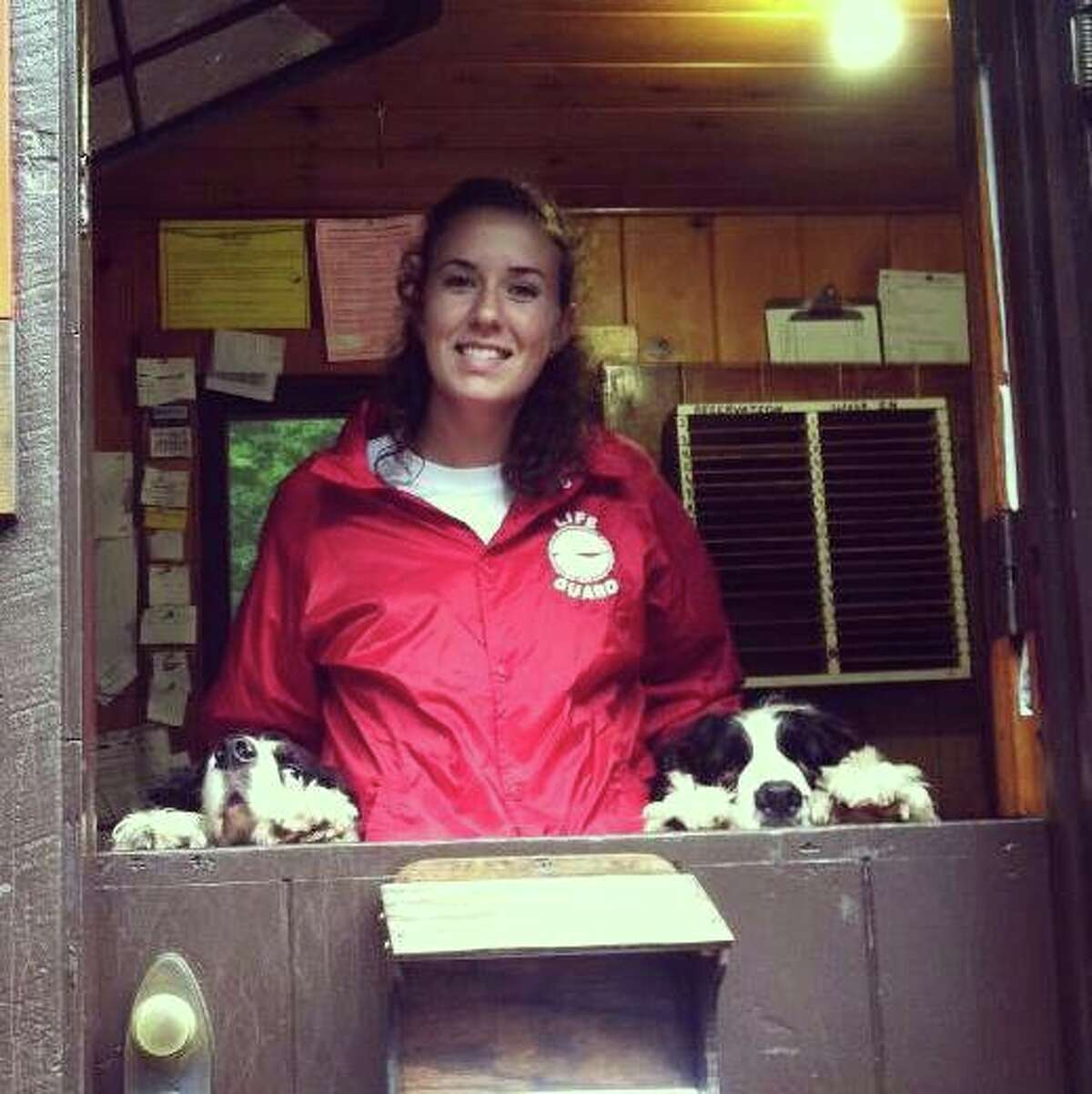 Amy Stafford was a lifeguard at the Golden Beach Campground on Raquette Lake during the summer. During a hike at the end of her stay in the Adirondacks, she fought off a bear with a knife while hiking.