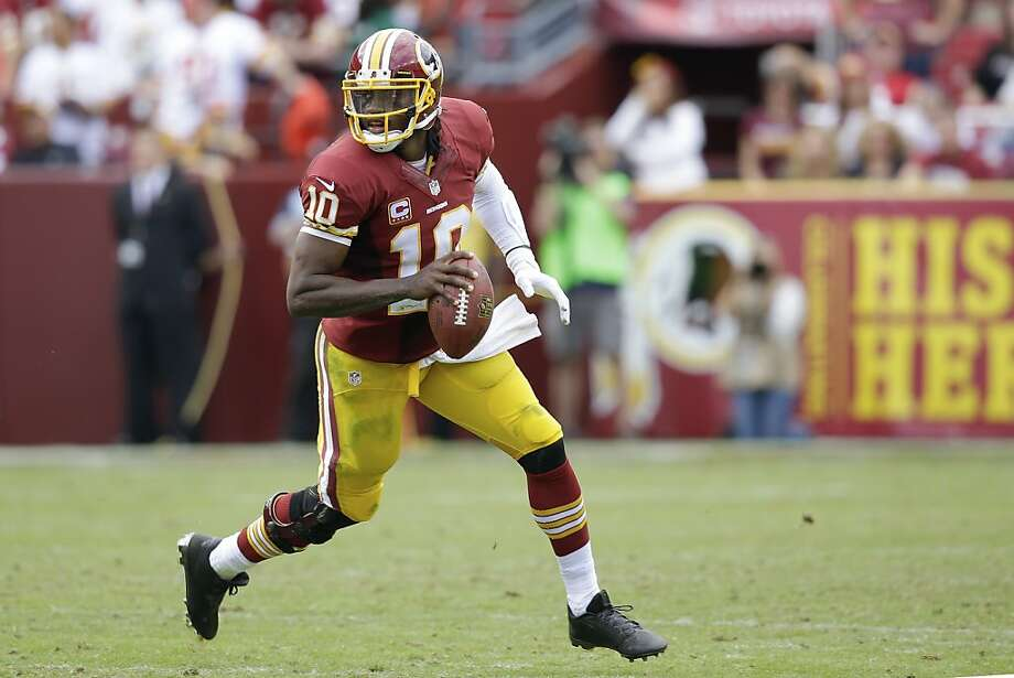 After knee surgery, Washington's Robert Griffin III hasn't thrived this season. Photo: Alex Brandon, Associated Press