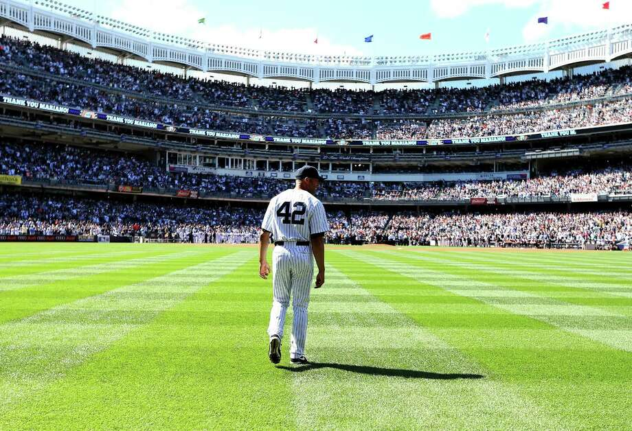 Mariano Rivera has earned a major league-record 652 saves in his 1,115 career appearances with the Yankees. Photo: Elsa, Getty Images / 2013 Getty Images