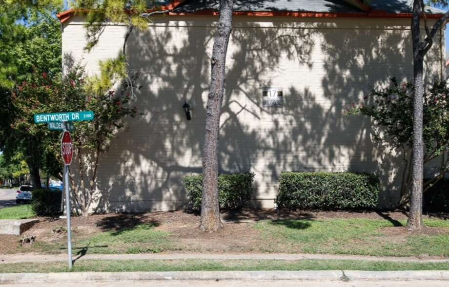 A 14-year-old Westside High School student was slashed at this corner while waiting for the bus on Thursday (Cody Duty / Houston Chronicle).
