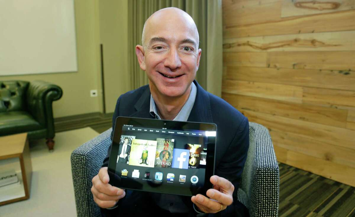 Amazon founder Jeff Bezos is this year's top