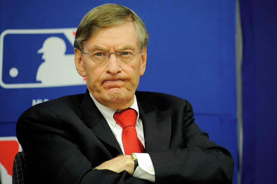 FILE - SEPTEMBER 26:  According to reports on September 26, 2013, Major League Baseball commissioner Bud Selig will announce his retirement.  NEW YORK, NY - NOVEMBER 22:  Major League Baseball Commissioner Bud Selig attends a news conference at MLB headquarters on November 22, 2011 in New York City. Selig announced a new five-year labor agreement between Major League Baseball and the Major League Baseball Players Association.  (Photo by Patrick McDermott/Getty Images) ORG XMIT: 134065395 Photo: Patrick McDermott / 2011 Getty Images