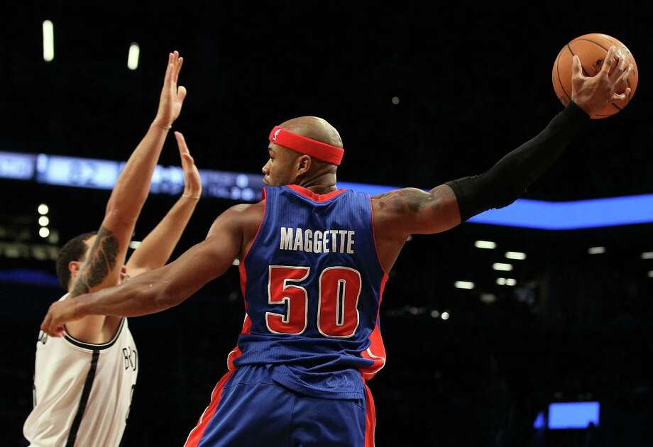 Corey Maggette, 33, will compete with Sam Young for the final roster spot at training camp. The Spurs courted the one-time scoring machine in 2008 before he signed with the Warriors. Photo: Jim McIsaac / Getty Images