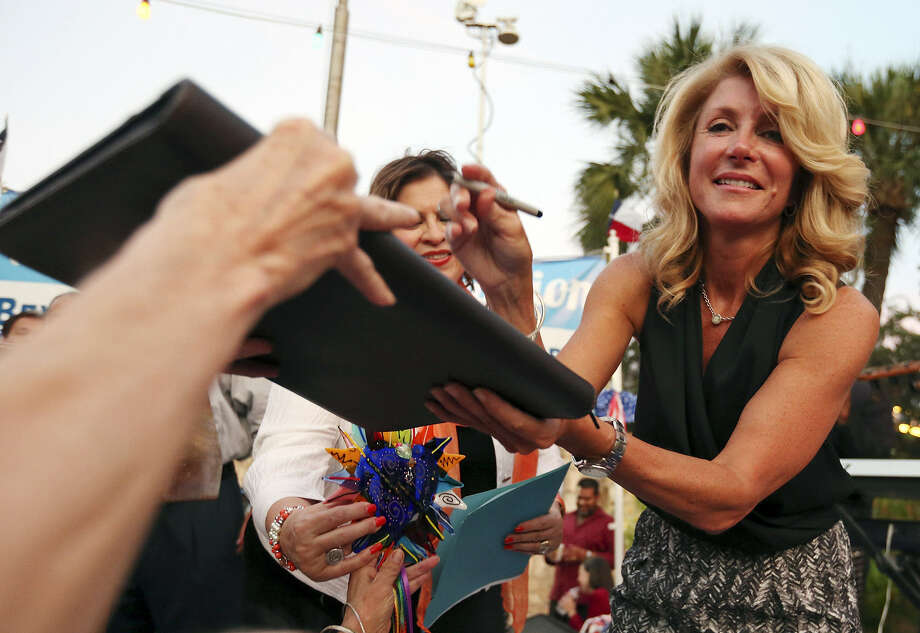 Democratic state Sen. Wendy Davis is expected to announce her plans Thursday to run for governor. Photo: Edward A. Ornelas, San Antonio Express-News