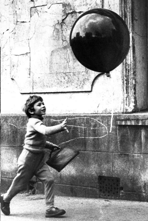 "Pascal Lamorisse in ""The Red Balloon.""  (imogen) Photo: Albert Lamorisse, Janus Films Lopert / Photofest"