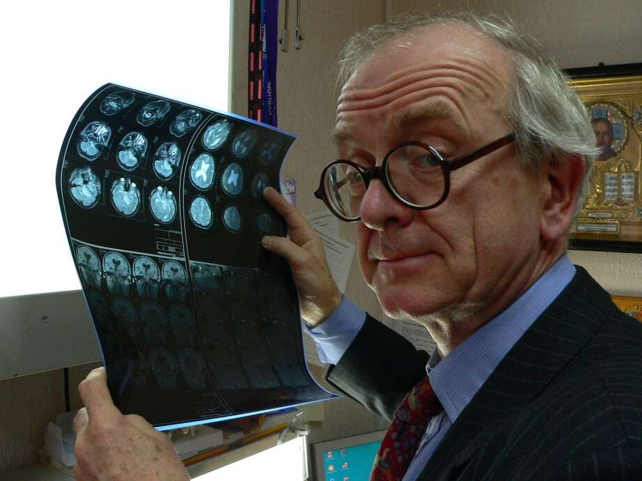 The documentary THE ENGLISH SURGEON, for a very disturbing scene in which a young woman is diagnosed with an inoperable brain tumor. Photo: G. Smith