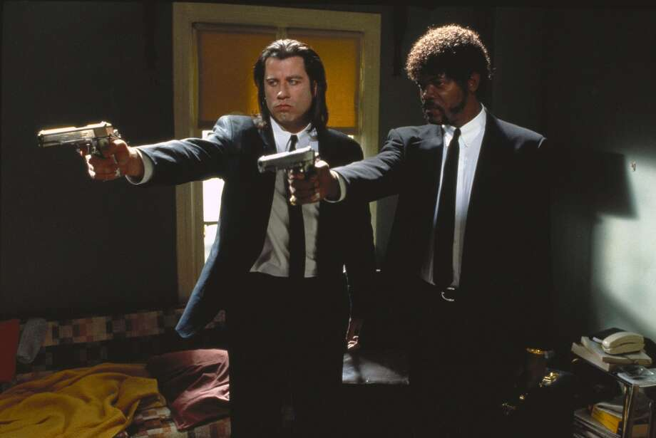John Travolta and Samuel L. Jackson in Pulp Fiction. (nobhill7c) Photo: Courtesy Of Miramax