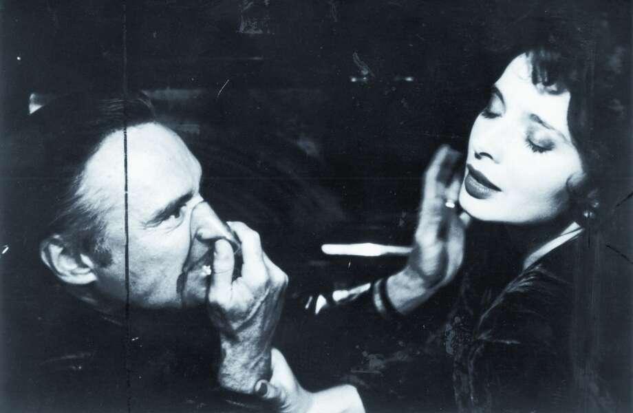 """Dennis Hopper (left) and Isabella Rossellini in David Lynch's """"Blue Velvet,""""1986. (duncansdav) Photo: Handout"""