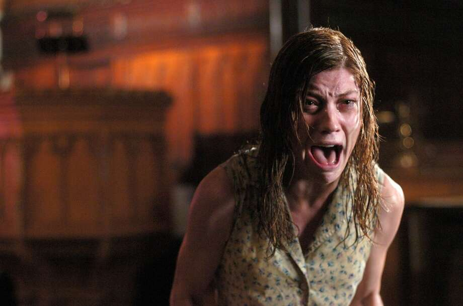 "Actress Jennifer Carpenter is shown in an undated publicity photo released September 7, 2005 in a scene from ""The Exorcism of Emily Rose."" (suzagoob).  For the way it makes you afraid of 3 am. Photo: Sony Pictures"