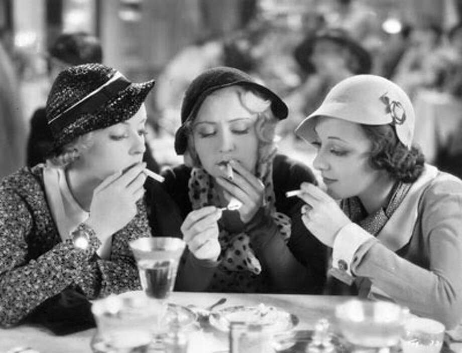 """Three on a Match,"" starring (from left) Bette Davis, Joan Bloondell and Ann Dvorak, is a 1932 pre-Code film. (jennythenipper) Photo: Warner Bros. 1932, ONLINE_YES / ONLINE_YES"