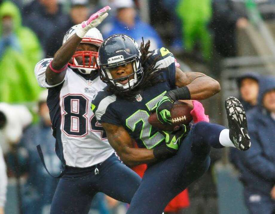 Ball-hawk Richard Sherman is only one of Schaub's main concerns come Sunday.