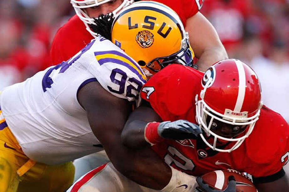 LSU is Georgia's third top-10 match-up this first month of the season.