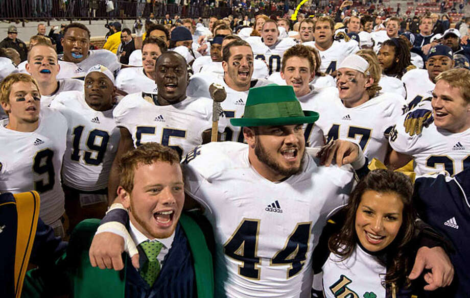 Irish have enjoyed plenty of success - and luck - against OU.