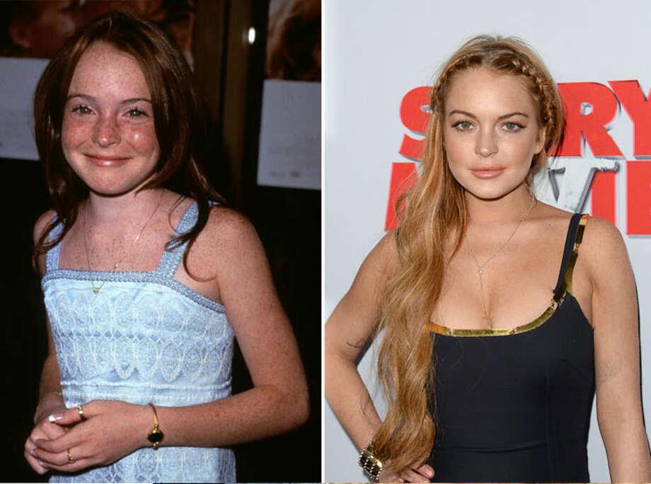 Lindsay Lohan went from Disney star to rehab. Photo: Steve.Granitz, File Photos