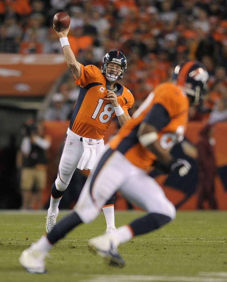 Philadelphia (1-2) plus-10 ½ at Denver (3-0): Broncos 38-21 Photo: Jack Dempsey, Associated Press
