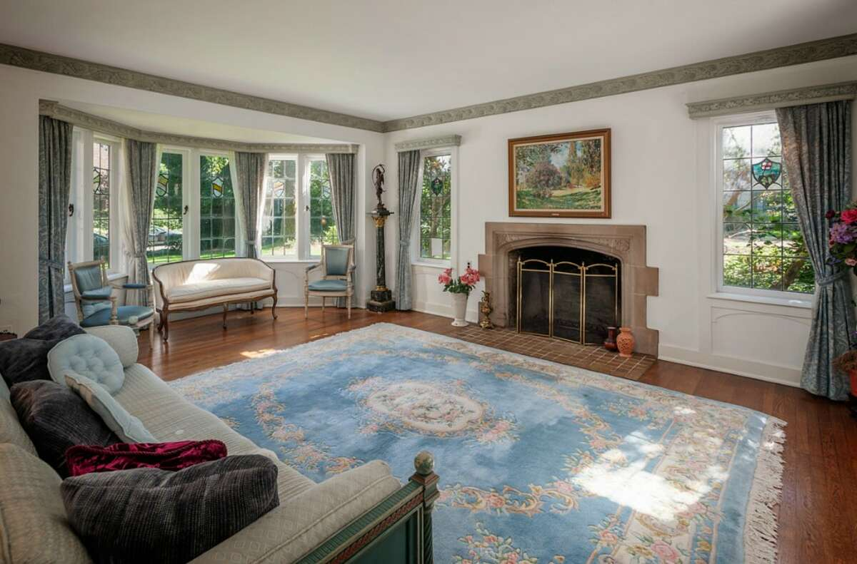 Living room of 2045 Parkside Drive E. It's listed for $2.15 million.