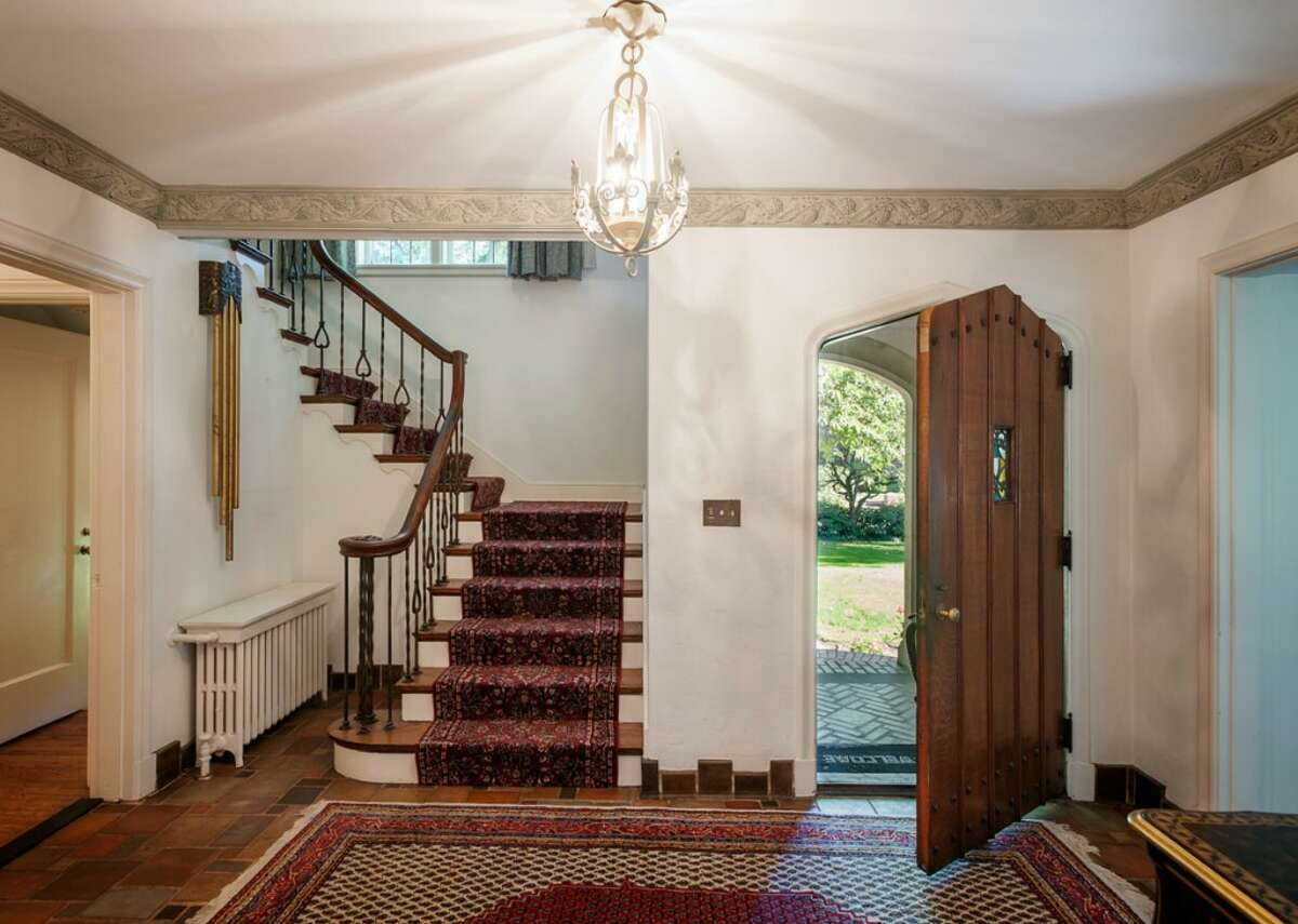 Foyer of 2045 Parkside Drive E. It's listed for $2.15 million.