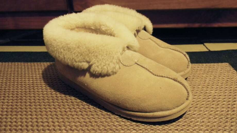Regardless of gender, these slippers are both sturdy and extremely comfortable. Photo: Vince Marcellino
