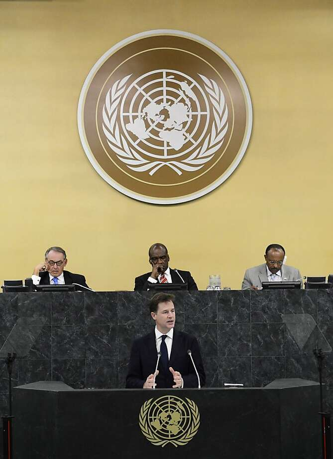 United Nations Photo: Pool, Getty Images