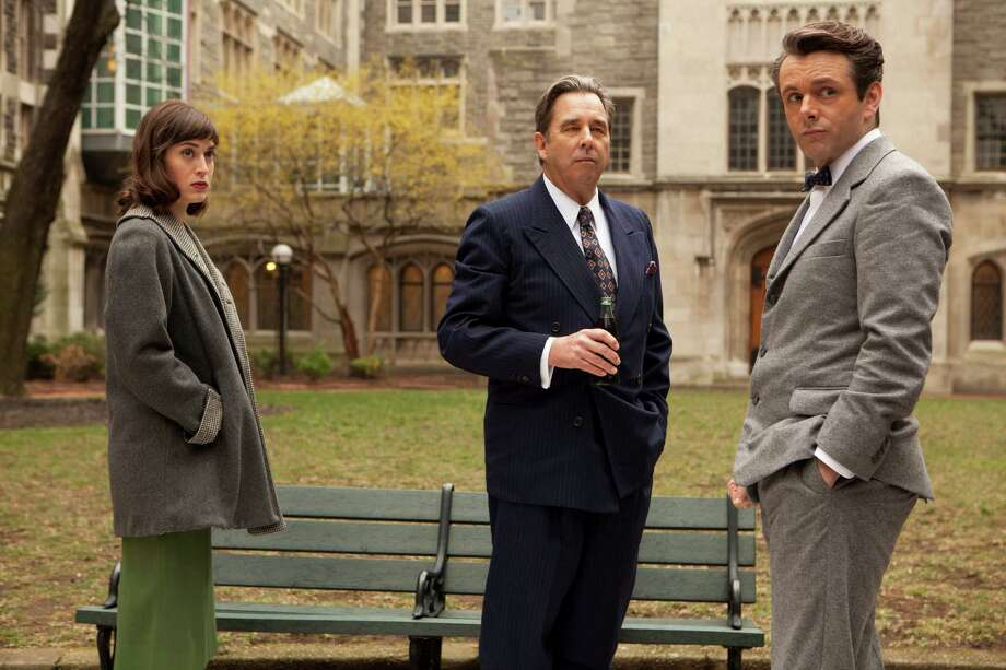 "This undated publicity photo released by Showtime shows, from left, Lizzie Caplan as Virginia Johnson, Beau Bridges as Barton Scully and Michael Sheen as Dr. William Masters in ""Masters of Sex,"" season 1, episode 1. (AP Photo/Showtime, Craig Blankenhorn) ORG XMIT: CAPH467 Photo: Craig Blankenhorn / Showtime"