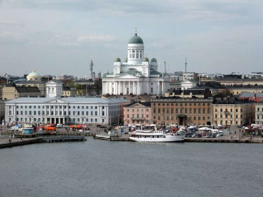 Best place to lose your wallet: Helsinki, Finland  11 out of 12 wallets returned to their owners.  From: Most Honest Cities: The Reader's Digest 'Lost Wallet' Test Photo: IStockphoto