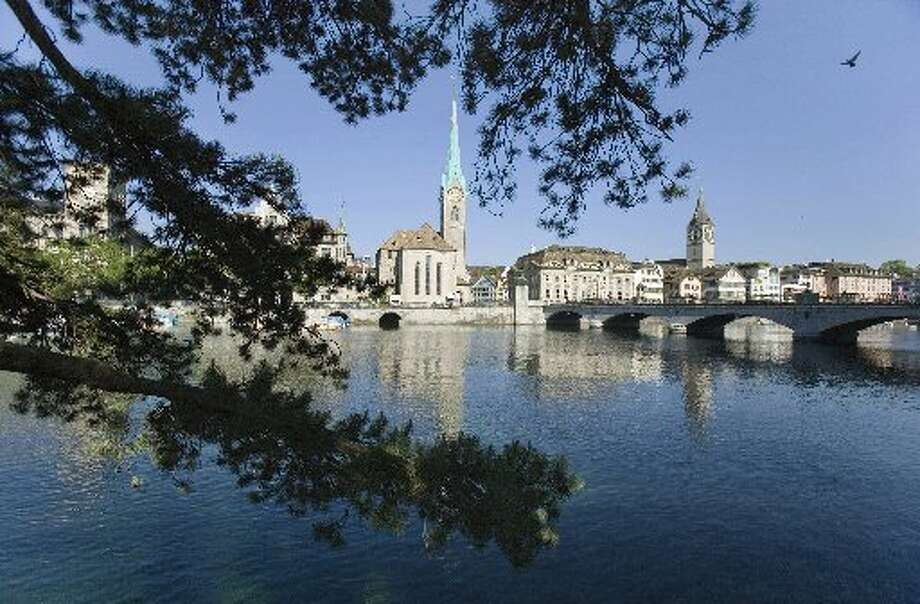 Zurich, Switzerland  4 out of 12 wallets returned to their owners.  From: Most Honest Cities: The Reader's Digest 'Lost Wallet' Test Photo: AP Photo/Keystone, Gaetan Bally, File