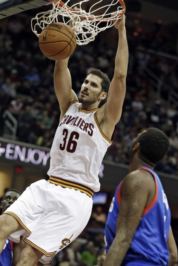 Omri Casspi Position: Small forward Height: 6-9 Weight: 225 College/Pre-NBA: Israel Experience: 4 years  Contract status: Will be an unrestricted free agent after 2014-15 season Photo: Mark Duncan, Associated Press
