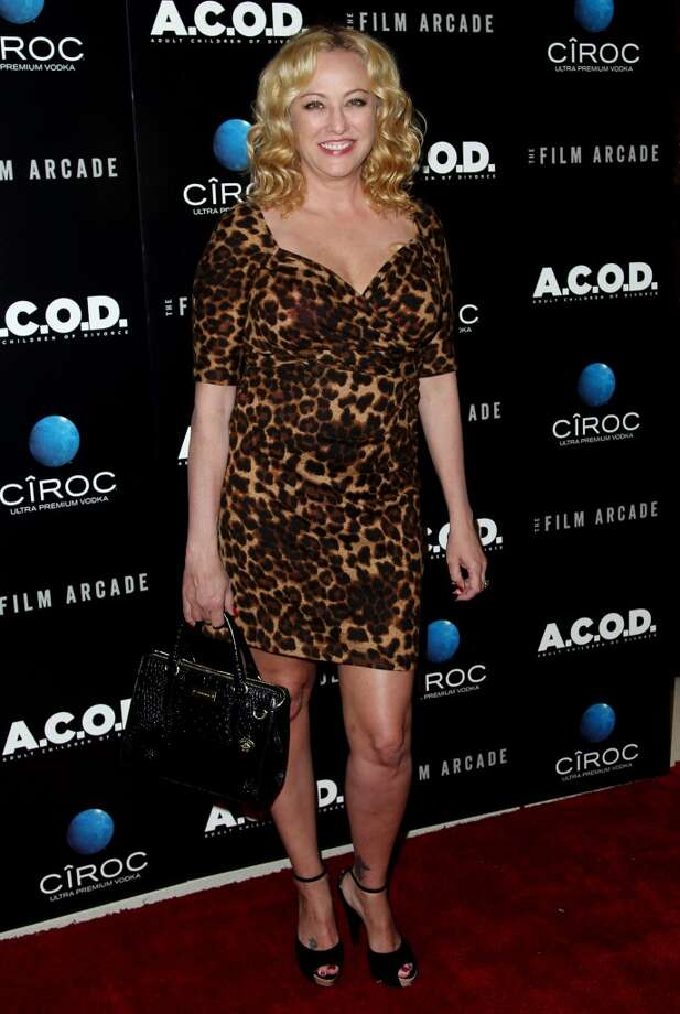 "Virginia Madsen arrives at the premiere of ""A.C.O.D."" at the Landmark Theatre on Thursday, Sept. 26, 2013 in Los Angeles. (Photo by Matt Sayles/Invision/AP) Photo: Matt Sayles, Associated Press"