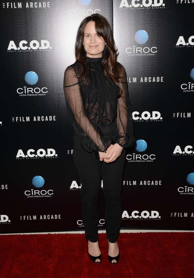 "Actress Elizabeth Reaser attends the premiere of The Film Arcade's ""A.C.O.D."" at the Landmark Theater on September 26, 2013 in Los Angeles, California.  (Photo by Jason Merritt/Getty Images) Photo: Jason Merritt, Getty Images"