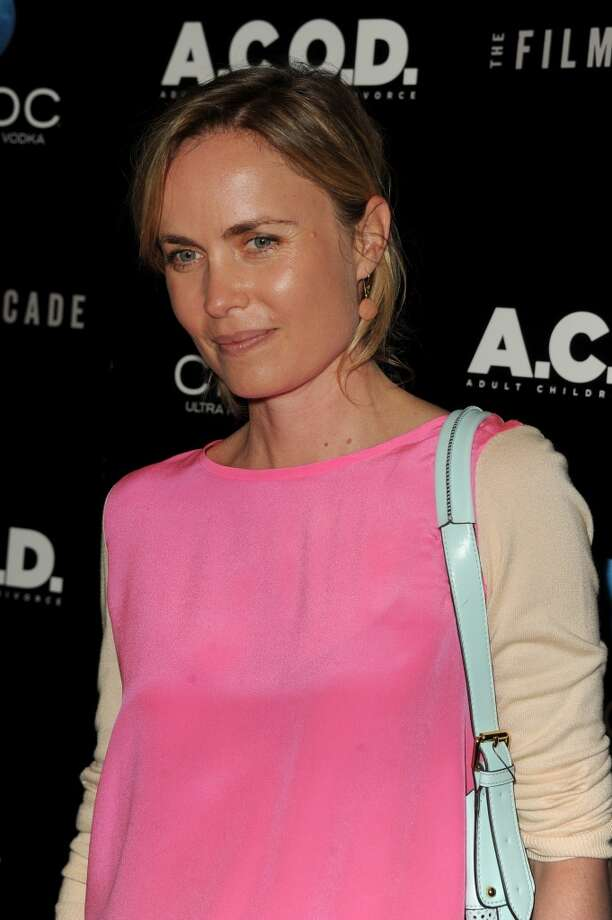 "Actress Radha Mitchell attends the premiere of the Film Arcade's ""A.C.O.D."" at the Landmark Theater on September 26, 2013 in Los Angeles, California.  (Photo by Kevin Winter/Getty Images) Photo: Kevin Winter, Getty Images"