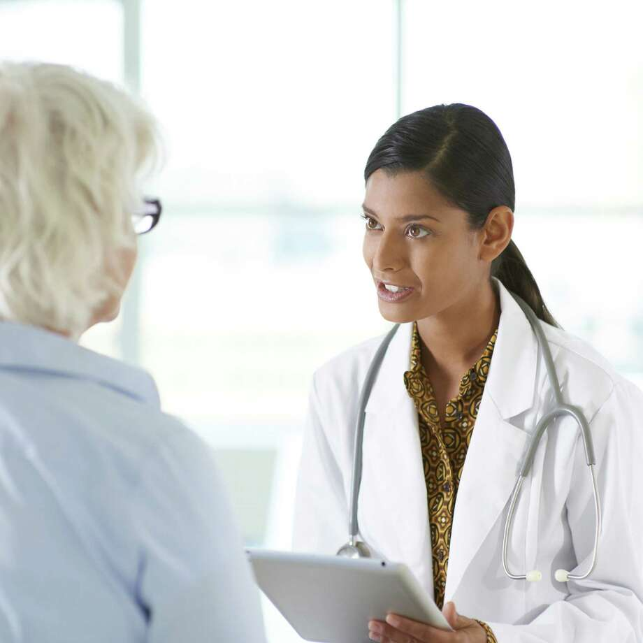 Be open with your doctor about your concerns,  medications. Photo: Blend Images RM / Via Getty Images