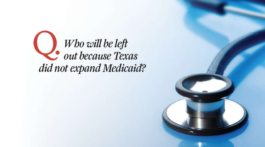 Answer: Individuals who will not receive expanded Medicaid coverage earn roughly between $11,500 and about $15,870. Families of four earn between an estimated $23,500 and $31,800.