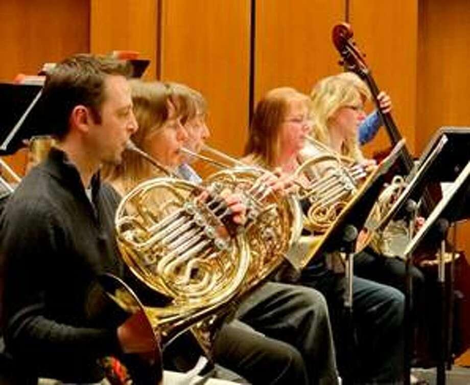 Members of the Greater Bridgeport Symphony.