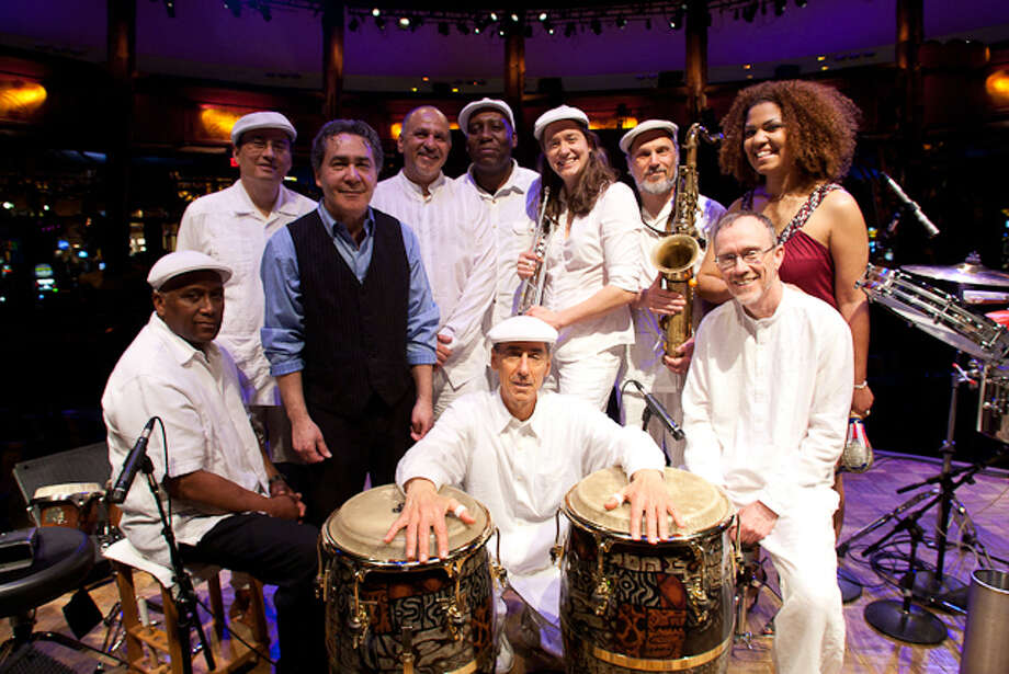 Ayer y Hoy: New Haven Latin band Mikata performs at Acoustic Cafe in Bridgeport, Conn., on Saturday, Sept. 28. Photo: Contributed Photo / Connecticut Post Contributed