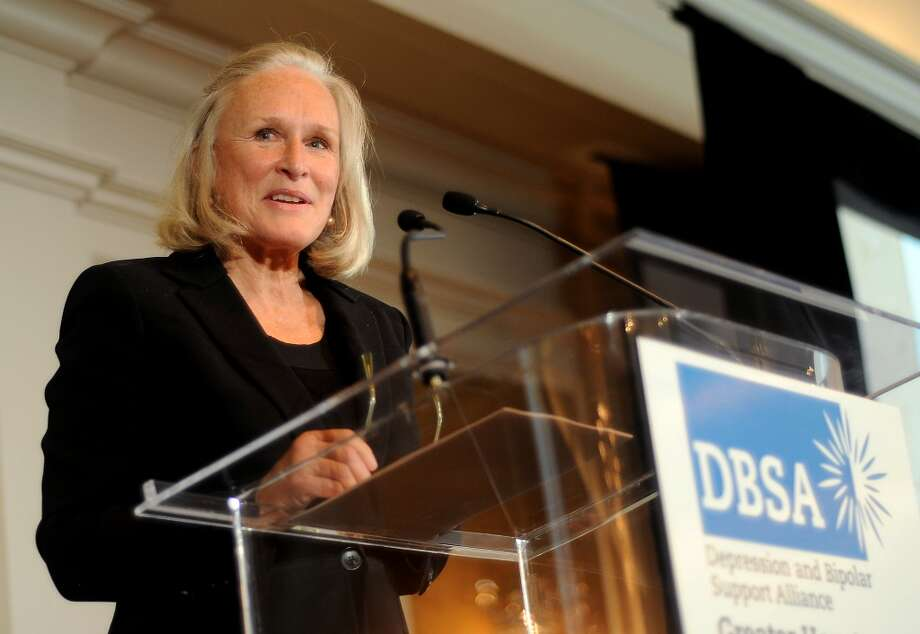 "Actress Glenn Close speaks at the DBSA ""Help, Hope and Healing"" luncheon Tuesday at the River Oaks Country Club Tuesday Sept.24 2013.(Dave Rossman photo) Photo: For The Houston Chronicle"