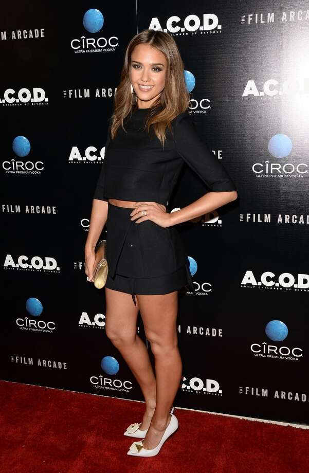 Actress Jessica Alba attends the premiere of The Film Arcade's 'A.C.O.D.' at the Landmark Theater on September 26, 2013 in Los Angeles, California.  (Photo by Jason Merritt/Getty Images) Photo: Jason Merritt, Getty Images