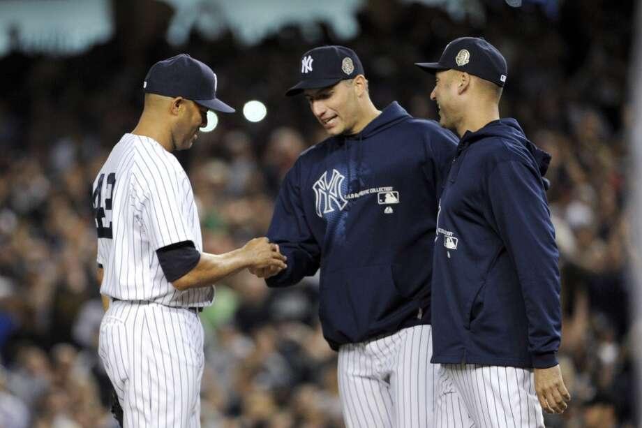1,115 appearances - 4th most in MLB history Photo: Bill Kostroun, Associated Press