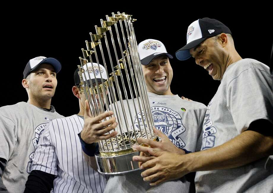 5 World Series titles - 1996, 1998, 1999, 2000, 2009 Photo: Pool, Getty Images