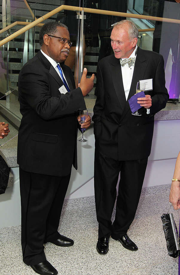 Were you Seen at the Inauguration Black Tie Dinner to benefit student scholarships at the School of Business building at UAlbany on Friday, Sept. 27, 2013? Photo: Joe Putrock/Special To The Times Union