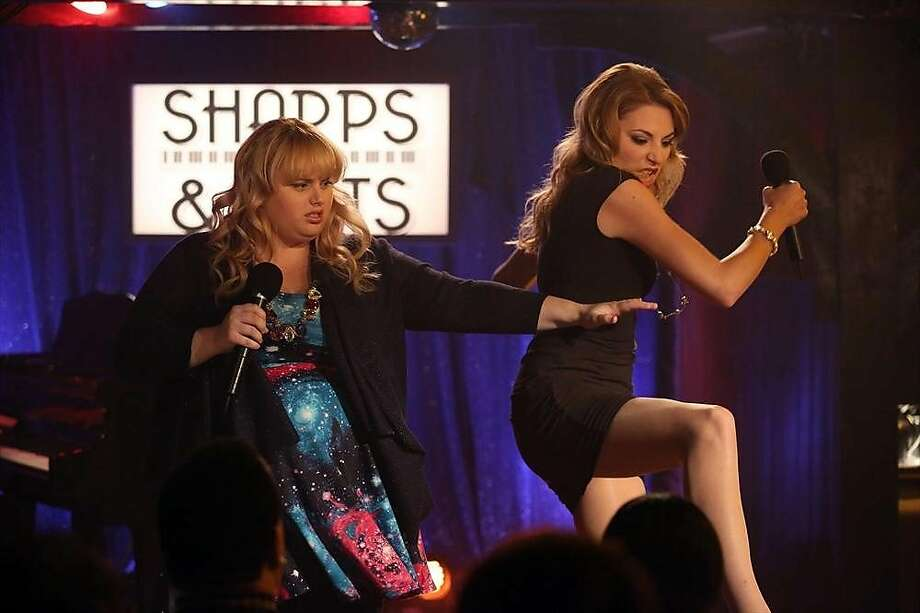 """Kimmie (Rebel Wilson, left) has a hateful rival in Kendall (Kate Jenkinson) in """"Super Fun Night."""" Photo: Gilles Mingasson, ABC"""