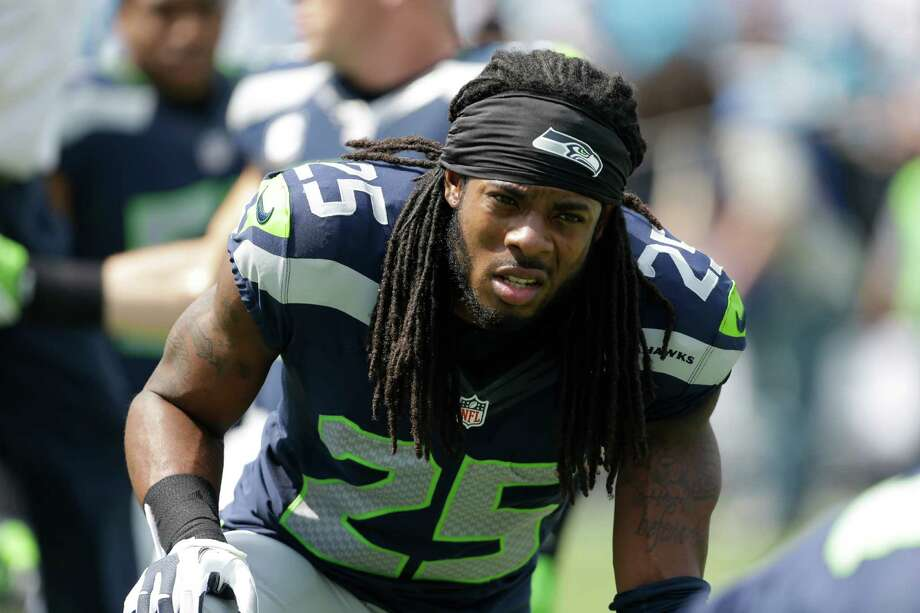 According to cornerback Richard Sherman, the Seahawks' secondary sets a weekly goal to hold opponents under 100 passing yards - and the unit seeks to force a turnover on every play. Photo: Bob Leverone, FRE / FR170480 AP