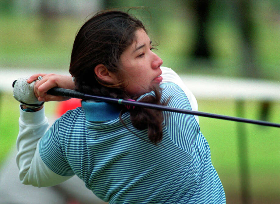 Cano tied for 15th individually in the Big 12 Preview. She was 25th in the next tournament. She was second in her third tournament and tied for 13th in her fourth and final event of the fall. When the fall semester closed,  Cano was the No. 2 player on an Oklahoma State team that won two titles and is ninth in MasterCard Collegiate Golf Rankings. Cano was rated 61st in the Golfweek Women's Division I rankings. Photo: KEVIN GEIL, San Antonio Express-News / SAN ANTONIO EXPRESS-NEWS