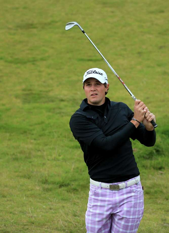 American Peter Uihlein on Friday nearly shot the first 59 on the European Tour at the Alfred Dunhill Links Championship. Photo: David Cannon / Getty Images