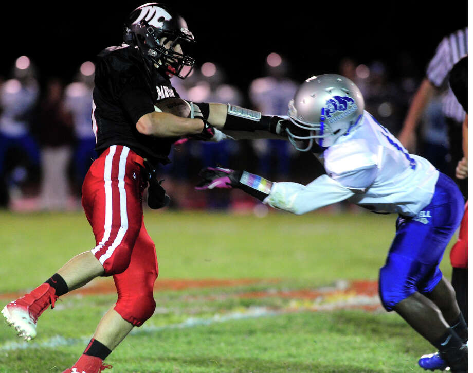 High school football action between Masuk and Bunnell in Monroe, Conn. on Friday September 27, 2013. Photo: Christian Abraham / Connecticut Post