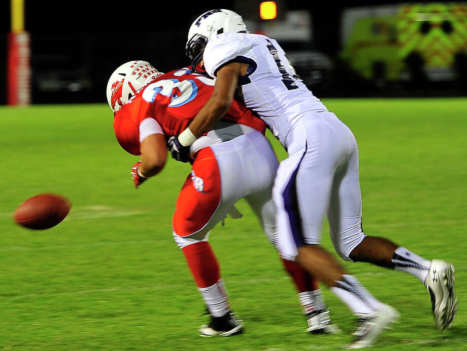 Port Neches-Groves beat the Lumberton Raiders on Friday night 45 to 0. Photo by Cassie Smith. Photo: Cassie Smith