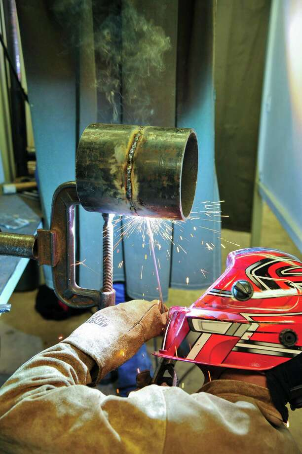 San Jacinto College welding students get plenty of valuable hands-on training in well-equipped labs that prepare them to be job-ready upon graduation.