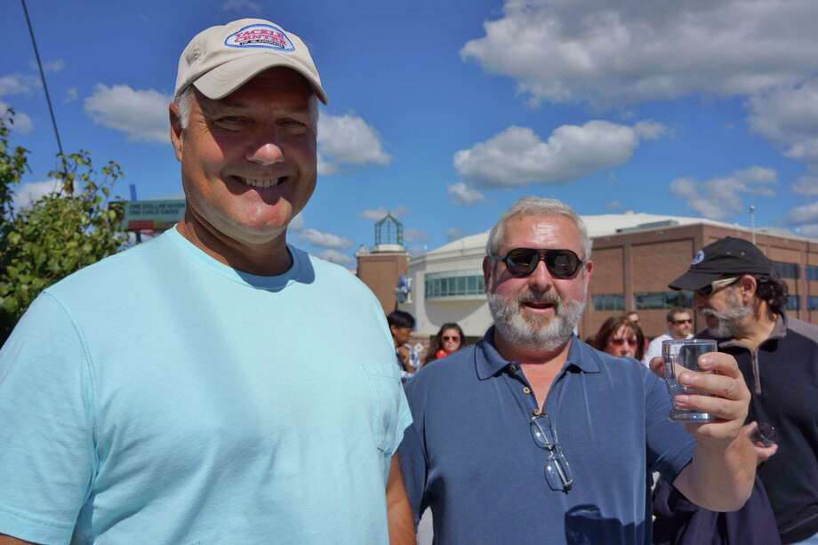 Were you SEEN at the Harbor Yard Brew Fest Saturday afternoon in Bridgeport? 9/28/2013 Photo: Todd Tracy/ Hearst Connecticut Media Group